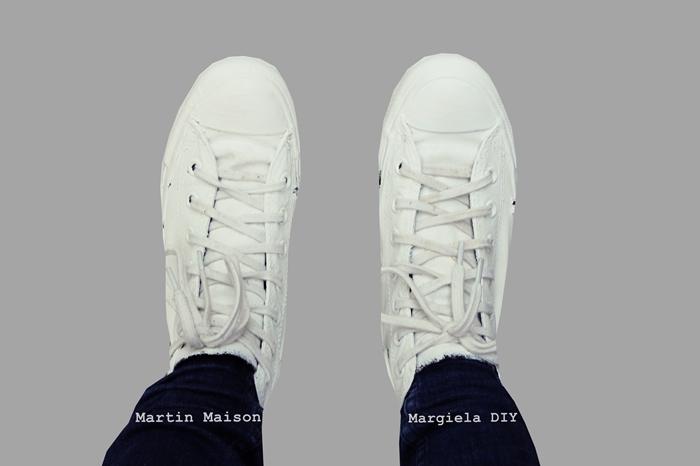 DIY| Martin Maison Margiela Converse Collaboration