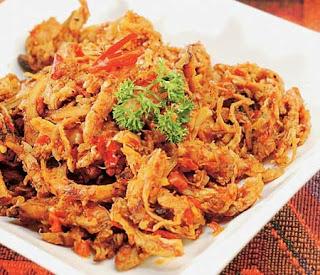 Resep Masakan Praktis Ayam Suwir Pedas Special