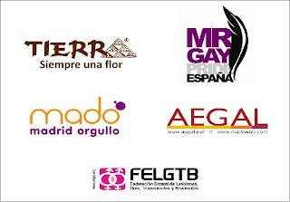 Concurso 'Campaña Flor Solidaria'. Fiestas del Orgullo Gay de Madrid 2011