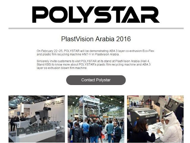 3 Layer (ABA) Blown film Machine: POLYSTAR advanced ABA 3