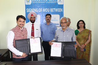 BSDU signs pact with Disha International Foundation to promote skill-based training among youth
