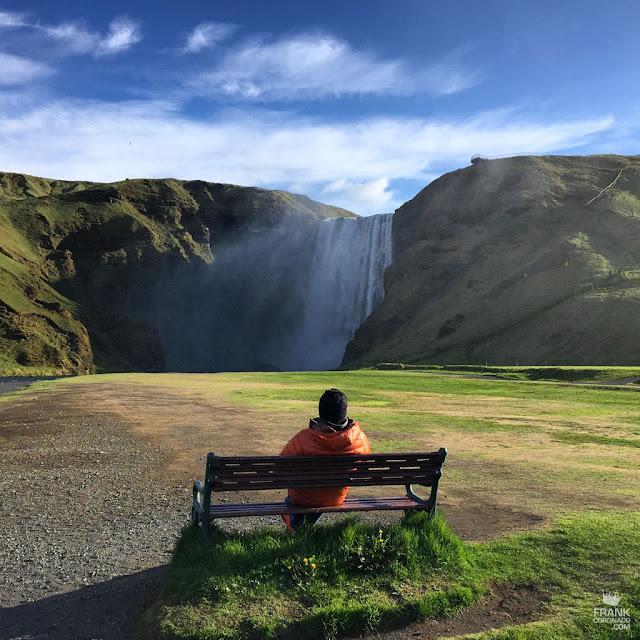 cascada Skógafóss Islandia