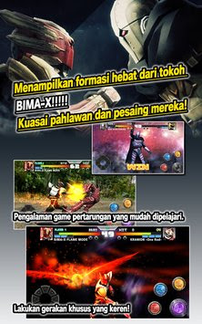 Free Download Bima X MOD APK Unlock All Character Versi Terbaru