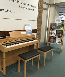 The library piano
