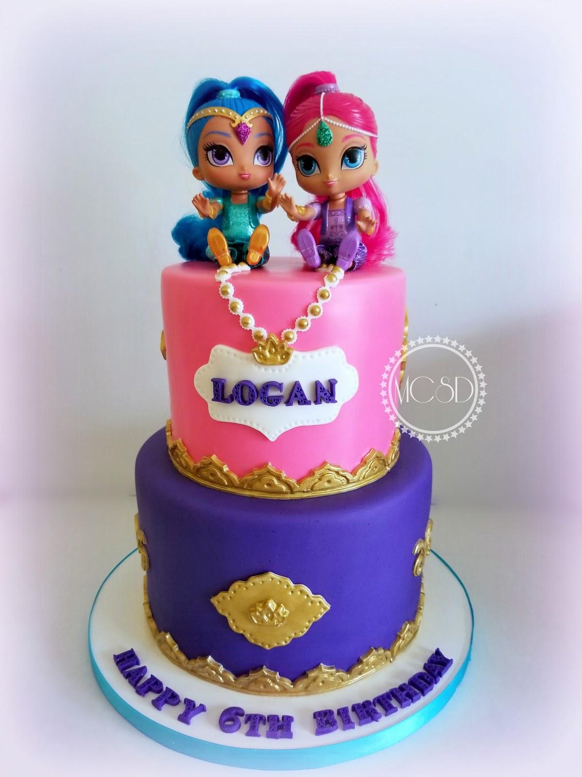 Onederland Birthday Cake
