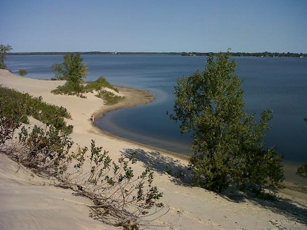 Sandbanks Beach Sand Dunes Ontario Canada