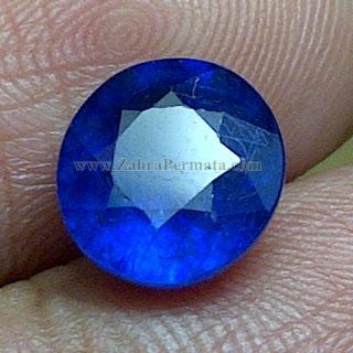 Batu Permata Blue Safir + Memo - ZP 830