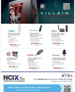 NCIX Flyer Weekly Deals October 11 - 18, 2017