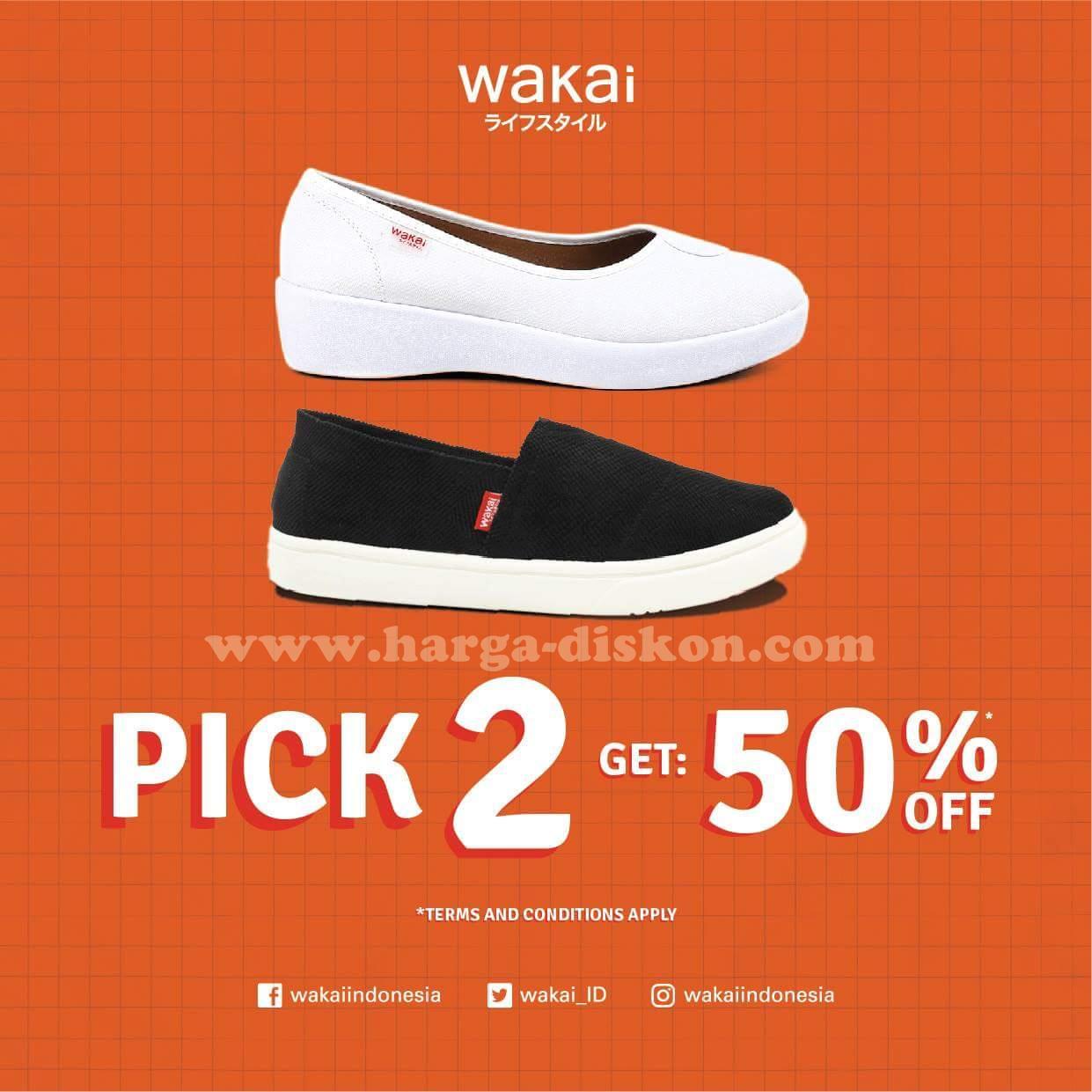 Dapatkan penawaran spesial dari Wakai : Beli 2 produk