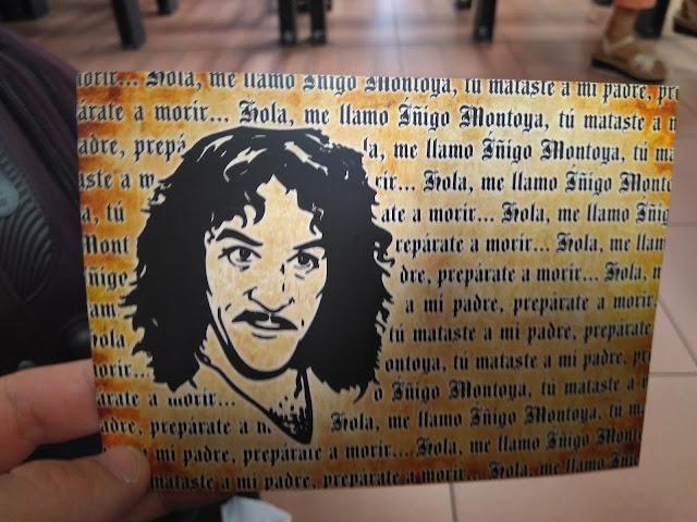 Tarjeta postal de Íñigo Montoy.