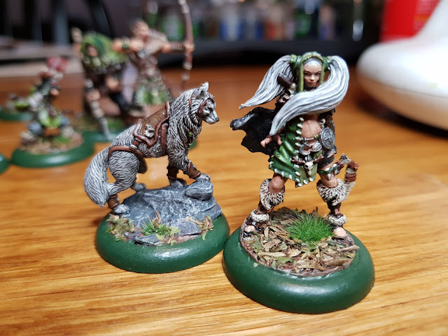Random Nerdery - Guild Ball - Hunters - Snow and Skatha