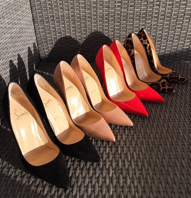 Brilliant Luxury ♦ Christian Louboutin pumps #redsole #louboutinworld