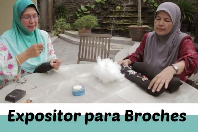 Expositor para Broches Diy como hacerlo