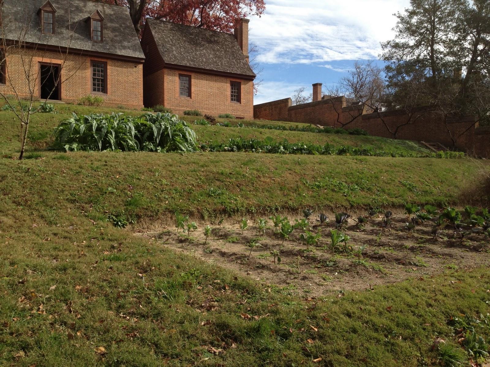 Garden Tour Governor S Palace Kitchen Garden