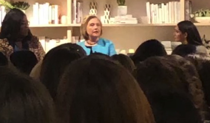 Bitter Hillary Fantasizes About an alternative reality where she's president