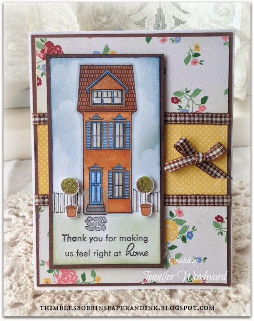 Thimbles Bobbins Paper And Ink Hospitality Thank You Card