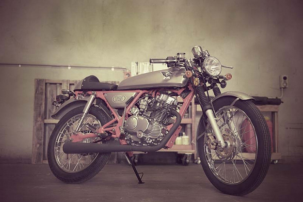 cafe racer, wee 125 cc racer honda clone from china   nelson's bmw