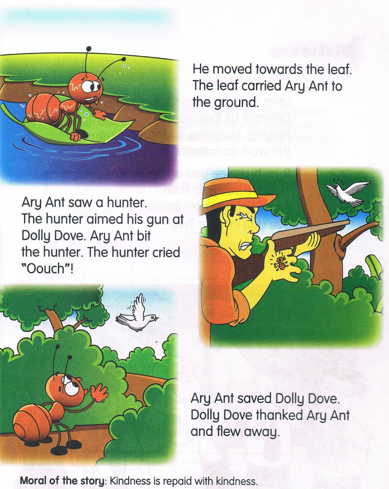 The Ant And The Dove Story