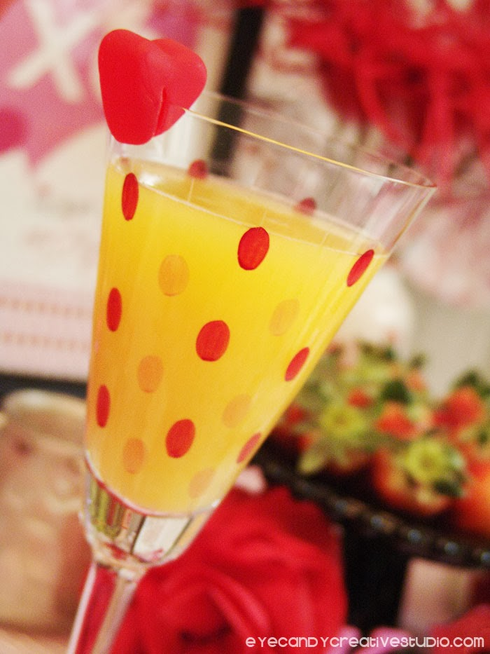 valentines day, mimosa, breakfast ideas for valentines day