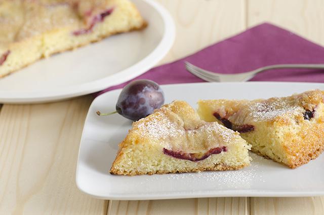 Plum torte (torta di prugne)
