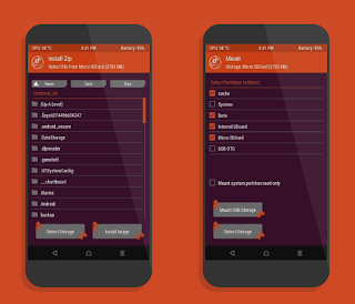TWRP 3.1.1-3 For TECNO L6 (Ubuntu theme as stock)