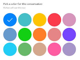 facebook messenger trick change chat color