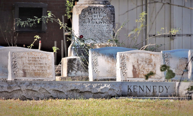 Kennedy and Foley Family graves