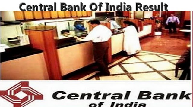 Central Bank Of India Result