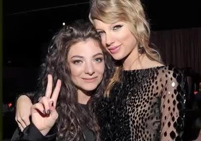 20 CELEBS WHO DON'T LIKE TAYLOR SWIFT 15. Lorde