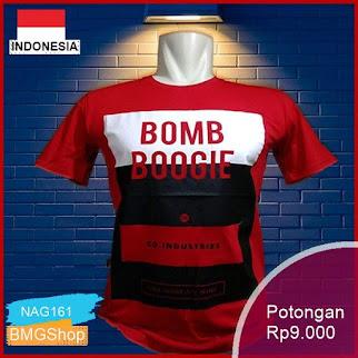 NAG161 Kaos Bombboogie Pria T Shirt Distro Bombogieo Murah Bmgshop
