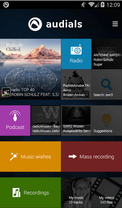 Audials Android Radio Player Review