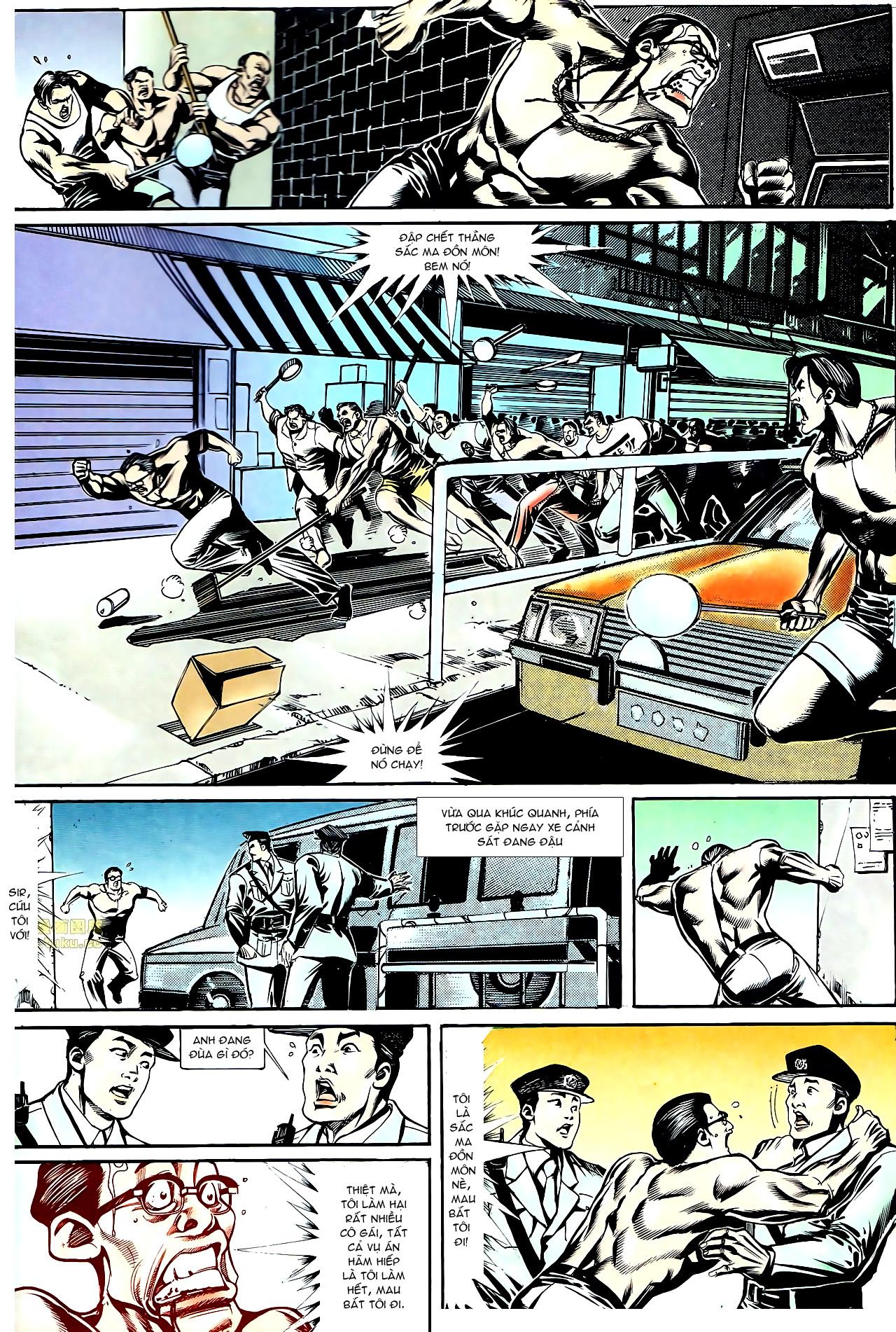 Người Trong Giang Hồ chapter 145: máu thịt tung tóe trang 6