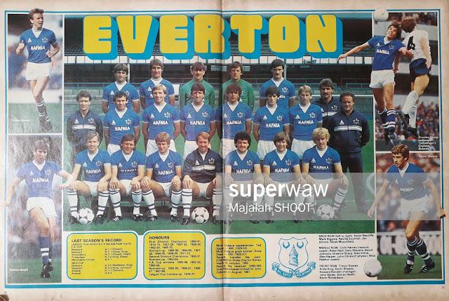 TEAM EVERTON 1983