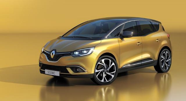 2018 Renault Scenic Design
