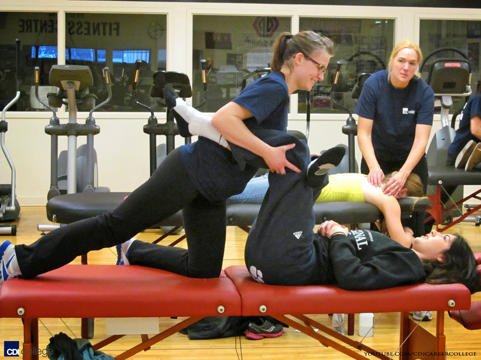 Cdi College Cdi College Massage Therapy Students At-3780