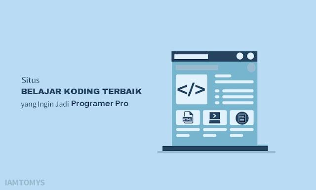 Situs Belajar Koding Terbaik yang Ingin Jadi Programer Profesional