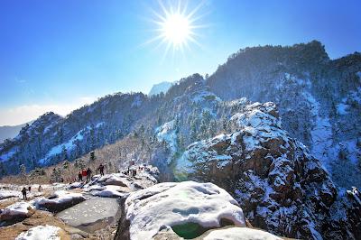 Sensasi Alam Pengunungan Seoraksan National Park