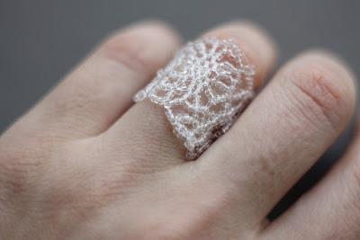 купить широкое ажурное кольцо ледяные бижутерия зимняя тема