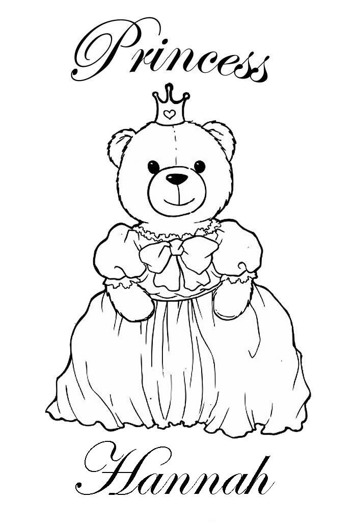 custom coloring pages by name - photo#43