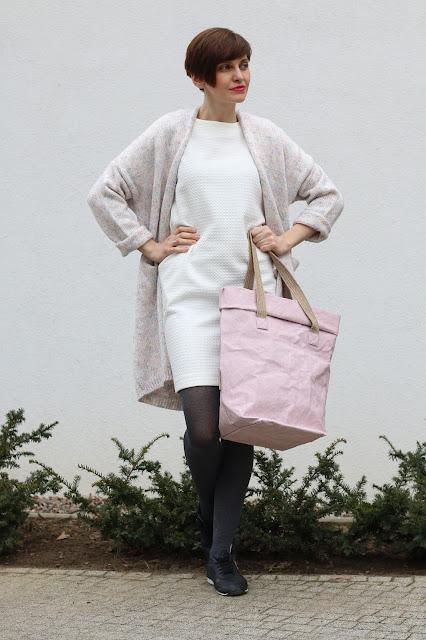 stylizacja dnia, stylizacja na wiosnę, stylistka radzi, stylistka Poznań, personal stylist, pastelele, długi sweter, kardigan,