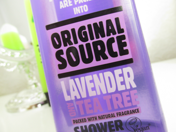 Original Source Lavender and Teatree Shower