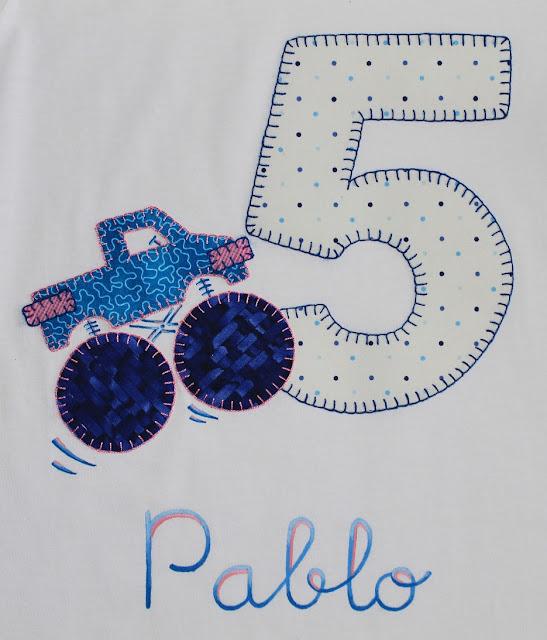 camiseta-cumpleaños-5años-monster jam