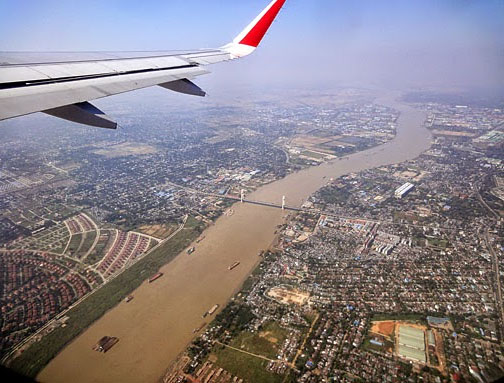 arriving in Bangkok