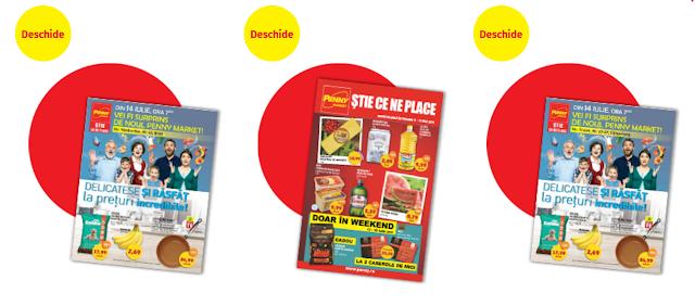 cataloage-brosuri promoţiile curente şi magazine Penny Market
