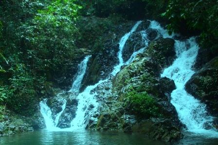Air Terjun Gurok Beraye Belitung