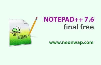 notepad++7.6