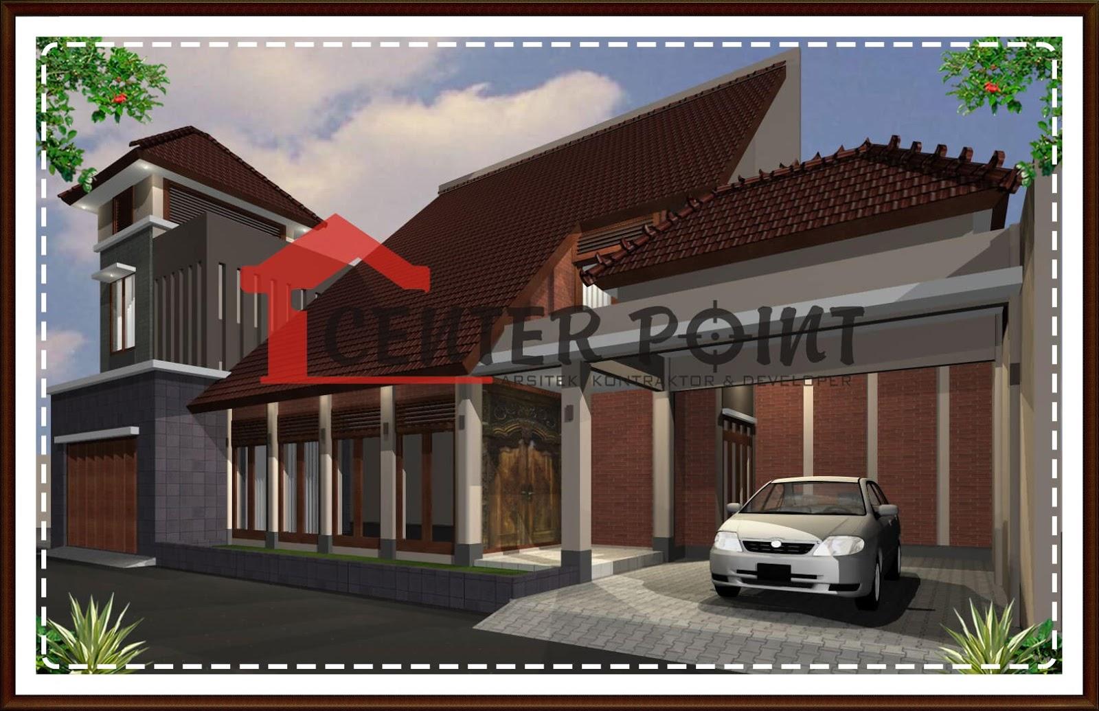 Jasa Desain Rumah Di Banjarbaru Minimalis Etnik Batu Alam Bata