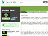 Pengguna Android, Hati-hati dengan Carrier IQ!