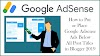 How to Put or Place Google Adsense Ads Below All Post Titles in Blogger 2019