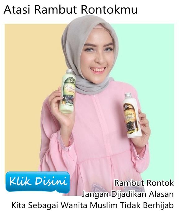 Shampoo Untuk Rambut Rontok Wanita Berjilbab
